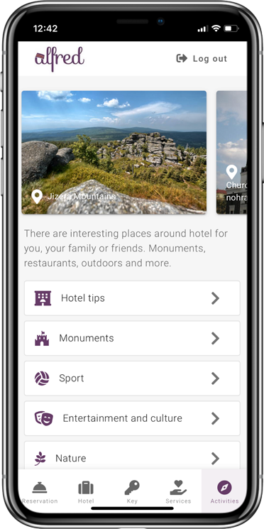 Hotel info and surroundings